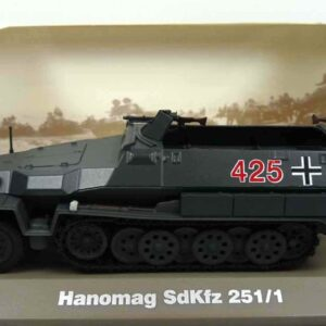 Atlas Editions MAG KP07 - Sd.Kfz.251/1 Hakl Hanomag Half-Track AFV (armoured fighting vehicle) , '425' 3rd Panzer Div. Wehrmacht