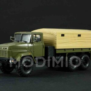 MODIMIO Collections Legendary Trucks USSR LG022 - KrAZ-6322 Truck , Russian Armed Forces