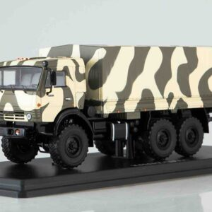 "Start Scale Models SSM1303 - KAMAZ-53501 ""Mustang"" 6x6 valník / flatbed truck , Russian Armed Forces"