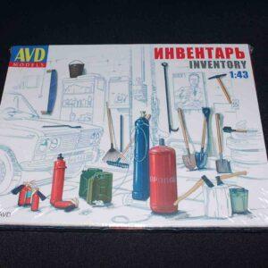 AVD Models / MODIMIO S001AVD - Inventář garáží - Garage Inventory