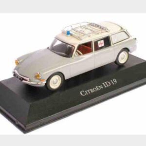 Atlas Editions Ambulance Collection MAG KX04 - Citroen IDS 19 Break , Ambulance 1962