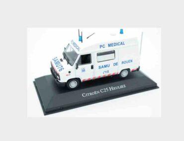 Atlas Editions Ambulance Collection MAG KX13 - Citroen C25 Heuliez , Ambulance 1984