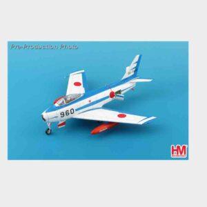 "Hobby Master HA4318 - North American F-86 Sabre , '02-7960' ""Blue Impulse"" 21 Sqn. 4th Air Wing JASDF - Japan Air Self-Defense Force"