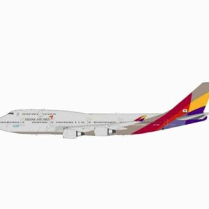 J Fox Models JF-747-4-049 - Boeing B747 -48E , 'HL7428' Asiana Airlines