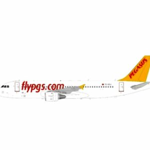 J Fox Models JF-A320-039 - Airbus A320-214 , 'TC-DCJ' Pegasus Airlines - Turkish Airline