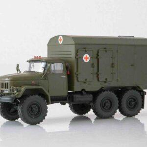 ModelPro 0050MP - DDA-3 (ZIL-131) Truck KUNG , Ambulance Soviet-Russian Army