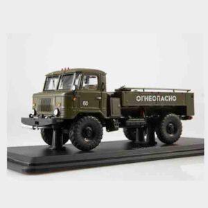 ModelPro 0078MP – TZ-2-66 (GAZ-66) cisternový automobil – tanker truck , Soviet Army