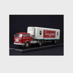 "Start Scale Models SSM7058 - Skoda LIAZ 706 MTTN Tahač - Tractor Truck + semitrailer ALKA N12CH ""Schlossberg Sekt"""