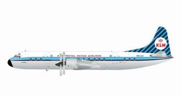 "Gemini Jets G2KLM848 - Lockheed L-188 Electra , 'PH-LLE' ""SATURNUS"" KLM"