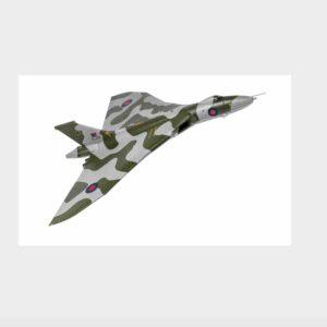 Corgi AA27205 - Avro Vulcan B.2 , 'XL319' No.35 Sqn. RAF , Scrampton - 1980s.Modely letadel Avro Vulcan.Hawker Siddeley Vulcan.Diecast models aircraft. Modely dopravních letadel.Diecast models airplanes.airliner.Modely vrtulníků. Diecast models helicopters.Modely aut. Diecast models cars.Modely vojenské techniky. Diecast models military vehicles.Modely tanků.Diecast models tanks. Modely raket.Diecast models rockets.Sběratelské modely.Hotové modely.Kovové modely.