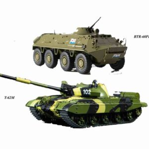 MODIMIO Collections NT040034SET - SET T-62 M + BTR-60 PB , Soviet Army