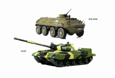 MODIMIO Collections NT040034SET - SET T-62 M + BTR-60 PB , Soviet Army