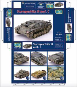 UM277Sturmgeschutz III Ausf C / САУ Sturmgeschutz III Ausf C