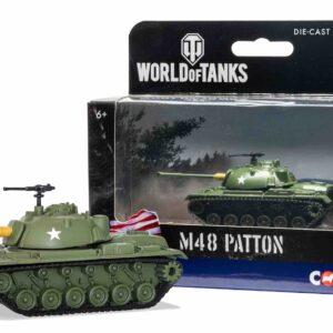 Modely tanku M48 Patton.Corgi World of Tanks WT91201 - M48 Patton , U.S.Army.Modely tanků.Diecast models tanks.Modely vojenské techniky.Diecast models military vehicles.Modely aut. Diecast models cars. Modely letadel.Diecast models aircraft.Diecast models helicopters.Sběratelské modely.Hotové modely.Sběratelské modely tanků.Kovové modely.