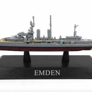 DeAgostini MAG KZ35 - Emden Light cruiser , Germany 1925.Modely lodí.Kovové modely.Diecast models ships.Sběratelské modely bitevních lodí.Hotové modely.Modely zaoceánských lodí.Diecast models of ocean liners.