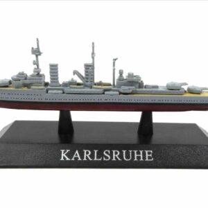 DeAgostini MAG KZ36 - Karlsruhe Light cruiser , Germany 1929.Modely lodí.Kovové modely.Diecast models ships.Sběratelské modely bitevních lodí.Hotové modely.Modely zaoceánských lodí.Diecast models of ocean liners.
