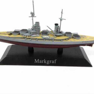 DeAgostini MAG KZ37 - SMS Markgraf Battleship , Germany 1914.Modely lodí.Kovové modely.Diecast models ships.Sběratelské modely bitevních lodí.Hotové modely.Modely zaoceánských lodí.Diecast models of ocean liners.