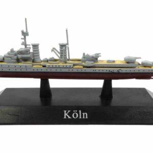 DeAgostini MAG KZ40 - Köln Light cruiser , Germany 1928 .Modely lodí.Kovové modely.Diecast models ships.Sběratelské modely bitevních lodí.Hotové modely.Modely zaoceánských lodí.Diecast models of ocean liners.