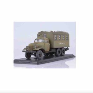"""ModelPro 0016MP - ZIS-151 Truck KUNG ASkD (ВАРЭМ """"Техпомощь"""") , Soviet Army .Modely aut. Diecast models cars.Modely nákladních aut.Diecast models vehicles.truck.jeřáb.Modely hasíčských,požarních vozidel.Diecast models cars.fire engine.Transport diecast models.Modely vojenské techniky. Diecast models military vehicles.Modely tanků.Diecast models tanks. Sběratelské modely.Hotové modely autSběratelské modely aut.Sběratelské modely vojenské techniky a tanků.Kovové modely aut."""