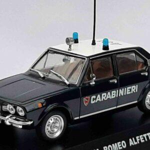 Modely aut Alfa Romeo.Altaya Carabinieri MAG KR10 - Alfa Romeo Alfetta , 1972.Modely aut. Diecast models cars.Sběratelské modely autobusů.Diecast models buses.Modely nákladních aut.Diecast models vehicles.truck.Modely hasíčských,požarních vozidel.Diecast models cars.fire engine.