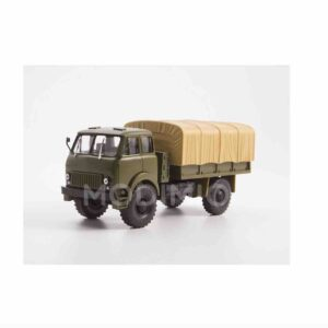 Modely aut MAZ.MODIMIO Collections Legendary Trucks USSR LG039 - MAZ-505 4x4 Truck , Soviet Army , Soviet Union 1962-1977.Modely vojenské techniky. Diecast models military vehicles.Modely tanků.Models diecast tanks.Modely aut. Diecast models cars.Modely letadel.Diecast models aircraft. Diecast models helicopters.Sběratelské modely.Hotové modely.Kovové modely.