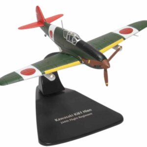 Oxford Diecast OX- AC077 - Kawasaki Ki-61 Hien , Imperial Japanese Army Air Force.Modely letadel.Diecast models aircraft. Modely dopravních letadel.Diecast models airplanes.airliner.Modely vrtulníků. Diecast models helicopters.Modely aut. Diecast models cars.Modely vojenské techniky. Diecast models military vehicles,Modely tanků.Diecast models tanks. Modely raket.Diecast models rockets.Sběratelské modely.Hotové modely.Kovové modely.