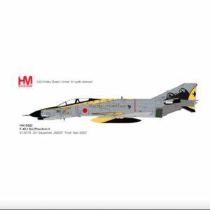 "Modely letadel F-4 Phantom II.McDonnell Douglas.McDonnell Douglas F-4EJ Phantom II.Hobby Master HA19022 - McDonnell Douglas F-4EJ KAI (Phantom II) , '37-8315' ""Go for it!! 301SQ"" 7th Air Wing 301 SQ JASDF , Hyakuri Air Base 2020 (""Final Year 2020"").Modely letadel.Diecast models aircraft. Modely dopravních letadel.Diecast models airplanes.airliner.Modely vrtulníků. Diecast models helicopters.Diecast models cars.Modely vojenské techniky. Diecast models military vehicles.Modely raket.Diecast models rockets.Sběratelské modely.Hotové modely.Sběratelské modely letadel.Kovové modely."