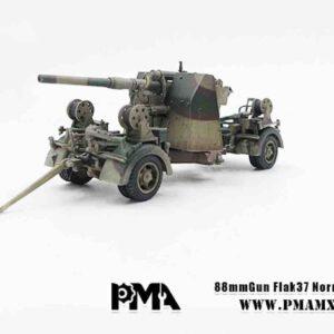 PMA - Precision Model Art P0314 - 8.8 cm Flak 37 - 88 mm Flak 37 , Normandy France 1944 .Modely tanků.Diecast models tanks.Modely vojenské techniky.Diecast models military vehicles.Modely aut. Diecast models cars. Modely letadel.Diecast models aircraft.Diecast models helicopters.Sběratelské modely.Hotové modely.Sběratelské modely tanků.Kovové modely.