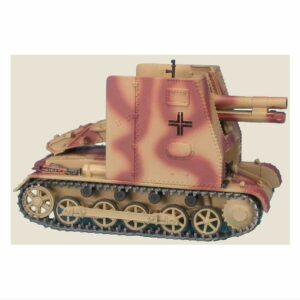 Modely tanků Sturmpanzer I Bison 15 cm sIG 33 (Sf) auf Panzerkampfwagen I Ausf.B Panzerkampfwagen I Panzer I Pz.Kpfw.I Sd.Kfz.101 Master Fighter MF48568RU - Sturmpanzer I Bison 15 cm sIG 33 (Sf) auf Panzerkampfwagen I Ausf.B (Sd.Kfz.101) , 5th Pz. Div. Wehrmacht , Soviet Union 1943 Modely tanků Diecast models tanks Modely vojenské techniky Diecast models military vehicles Modely aut Diecast models cars Modely letadel Diecast models aircraft Diecast models helicopters Sběratelské modely Hotové modely Sběratelské modely tanků Kovové modely